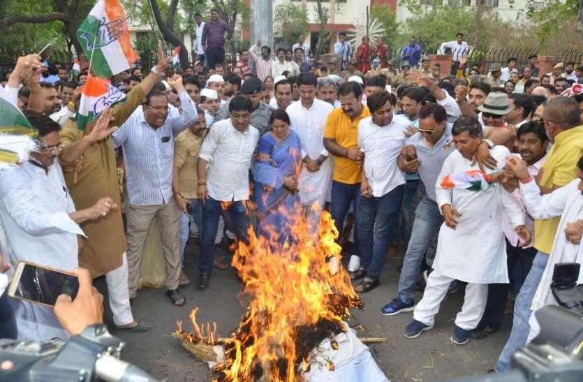 कर्नाटक का गुस्सा जयपुर में फूटा