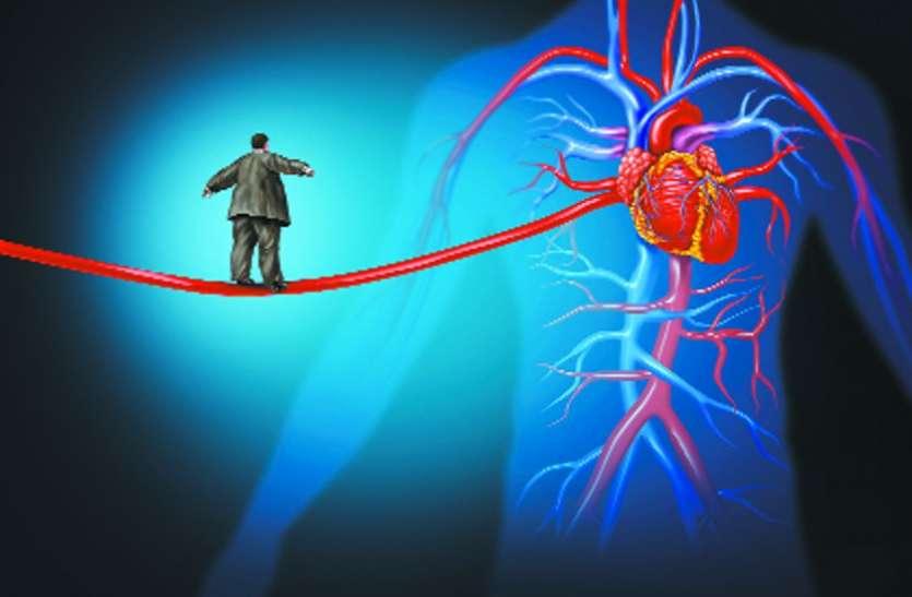 एक्सट्रा 1 किलो वजन भी है दिल पर भारी