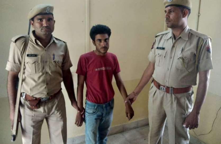 Video: गंगापुरसिटी : वजीरपुर  पुलिस ने दिखाई फुर्ती देसी कट्टा व दो कारतूस के साथ एक जने को पकडा
