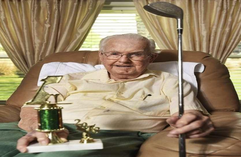 गोल्फ के खास शॉट के लिए लगा दिए सात दशक, 93 साल की उम्र में छोड़ा खेल