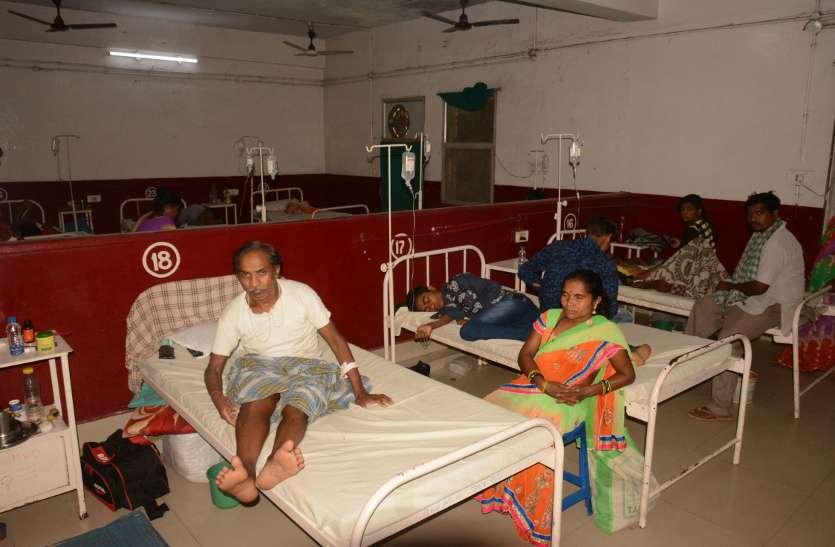 शहरी क्षेत्र में पांव पसार रहा पीलिया, मरीजों की संख्या 167 पहुंची