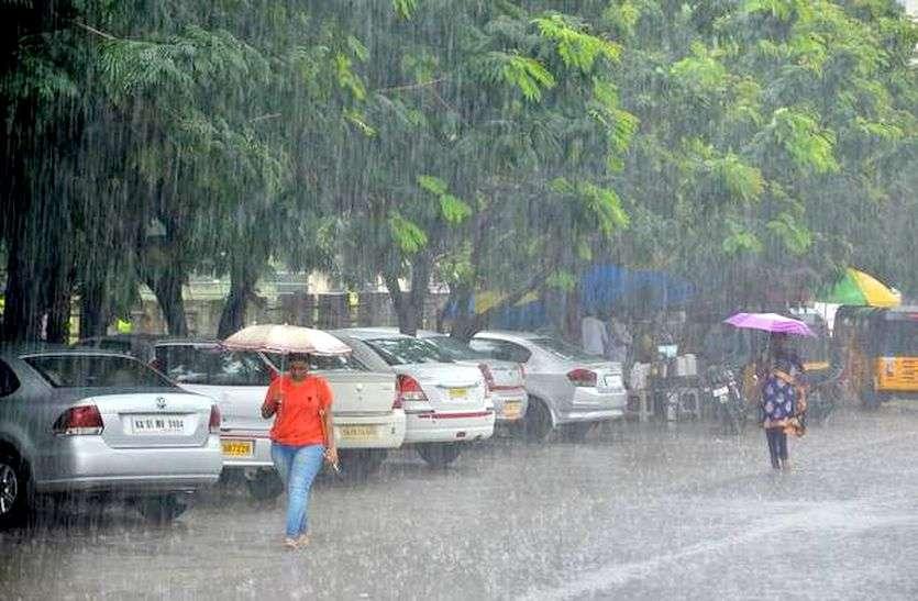 राजस्थान में यहां बदला मौसम का मिजाज, तेज हवाओं के साथ जोरदार बारिश, गर्मी से मिली राहत