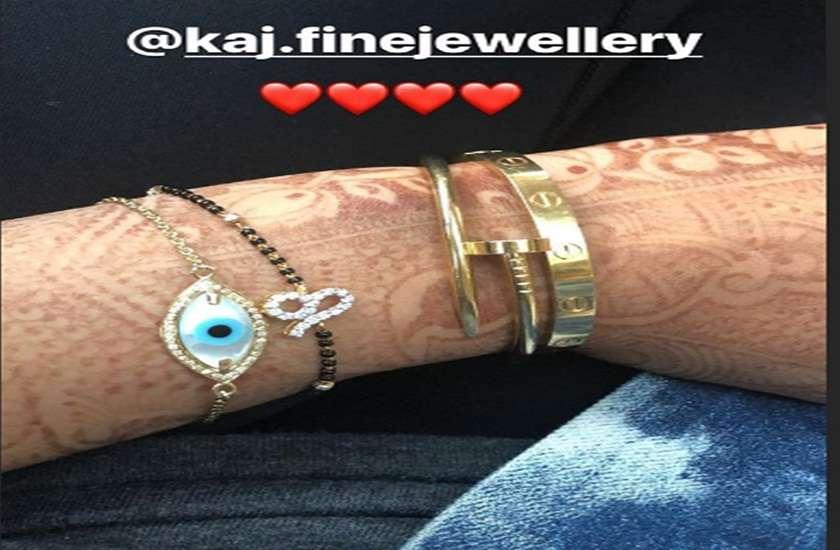 sonam kapoor ahuja wearing her mangalsutra on the wrist photo viral