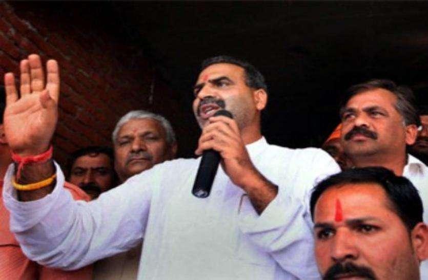BJP MP Sanjeev Baliyan