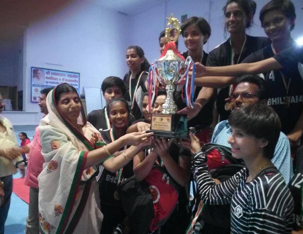 JAISALMER SPORTS NEWS- भीलवाड़ा की युवतियों और जैसलमेर के युवकों ने जीता राज्य स्तरीय खिताब