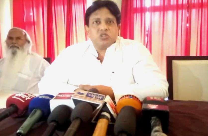 Lokdal Adhyaksha Sunil Singh