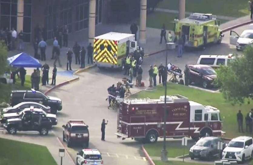 गोलीबारी से दहल उठा अमरीका का टेक्सास प्रांत, कई छात्रों समेत 10 लोगों की मौत