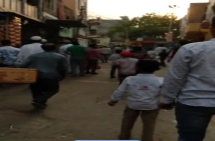 गाजियाबाद में दो पक्षों में संघर्ष, गोली चलने से मची भगदड़