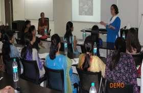 कोर्स पढ़ाने के लिए शिक्षकों को दी जाएगी विशेष ट्रेनिंग