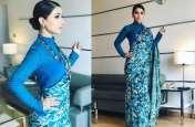 ब्लू साड़ी में कहर ढा रही टीवी स्टार हिना खान, सोशल मीडिया पर मचाया तहलका