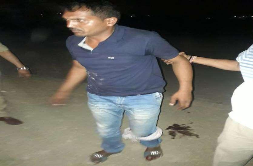 गाजियाबाद पुलिस को बड़ी कामयाबी, एक बदमाश गिरफ्तार, जवान को भी लगी गोली