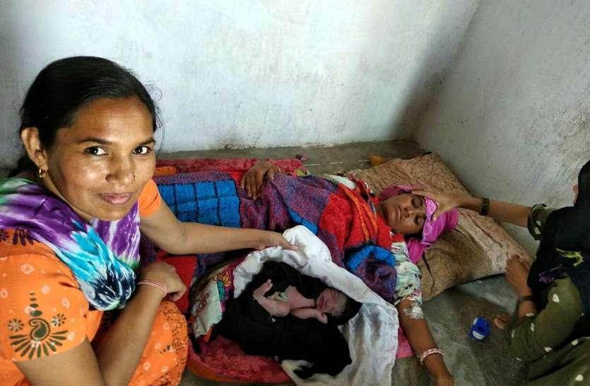JAISALMER NEWS- राजस्थान के सरकारी अस्पताल में सुरक्षित प्रसव के ऐसे हालात देख रह जाएंगे दंग