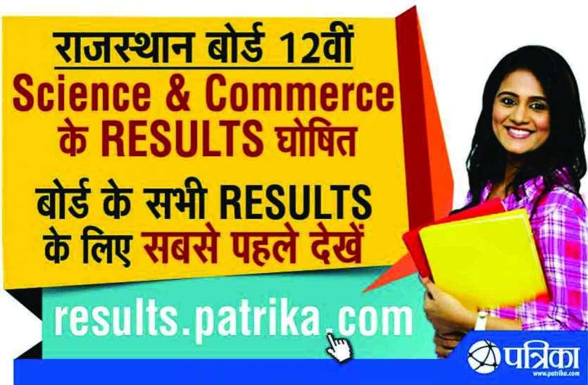 राजसमंद में विज्ञान में 85.15, वाणिज्य में 90.93 फीसदी रहा 12वीं का परीक्षा परिणाम