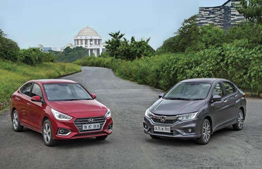 Honda City and Hyundai Verna Comparison