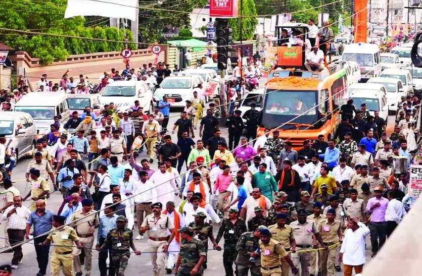 CM रमन सिंह ने ऐसे मांगा छत्तीसगढ़ में चौथी पारी के लिए जनता का समर्थन