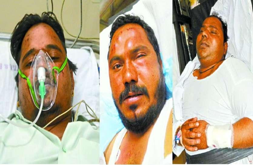 आरटीओ में 3 सगे भाइयों से हुआ विवाद, बदमाशों ने चाकू से गोद दिया शरीर