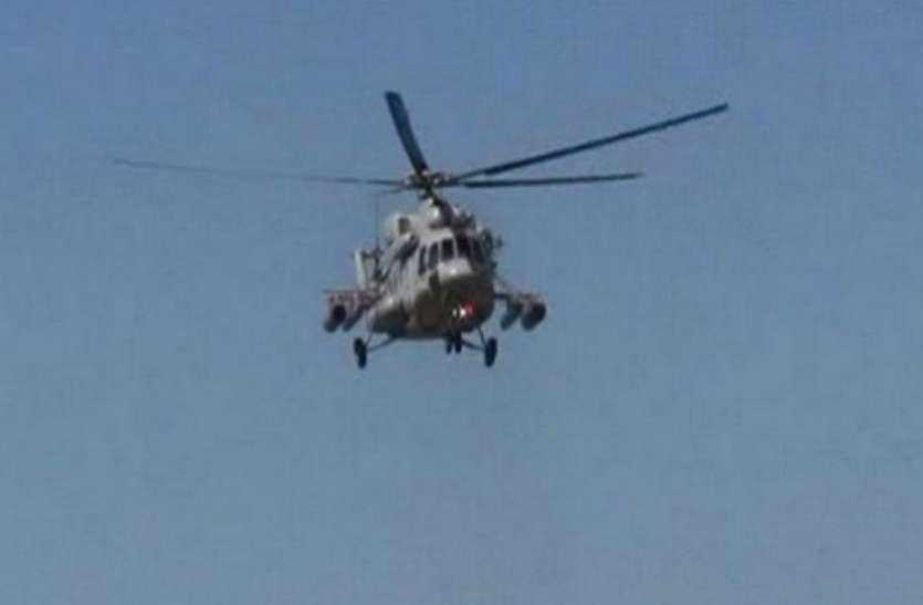 जम्मू: भारतीय वायुसेना का चीता हेलीकॉप्टर दुर्घटनाग्रस्त