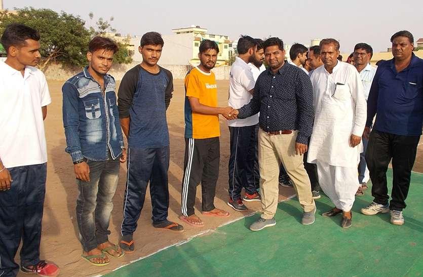 वेस्ट जोन टेनिस क्रिकेट प्रतियोगिता मेंं महाराष्ट्र ने राजस्थान को पराजित किया