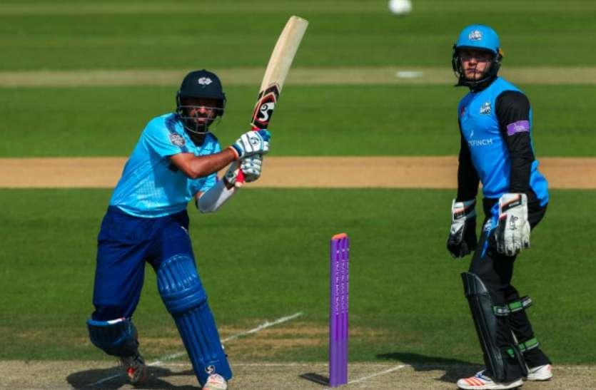 आलोचकों के निशाने पर रहे चेतेश्वर पुजारा ने काउंटी क्रिकेट मे ठोका बेहतरीन शतक