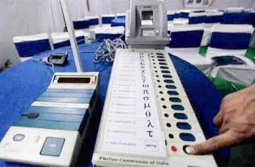 राजस्थान में निर्वाचन विभाग ने ली राहत की सांस—इन छह जिलों में ईवीएम में नही मिली कोई खराबी