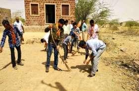 JAISALMER NEWS- मोदी सरकार के चार सालों को यादगार बनाने के लिए कार्यकर्ताओं ने किया..