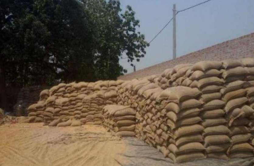 खाद्यान्न गोदाम में पड़ा छापा, तो 50 लाख से ज्यादा बोरी सरकारी खाद्यान्न हुई बरामद