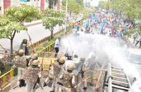 MP: जंगी प्रदर्शन में शामिल हुए NSUI के राष्ट्रीय अध्यक्ष, फिर शुरू हुआ BJP के खिलाफ हल्ला बोल