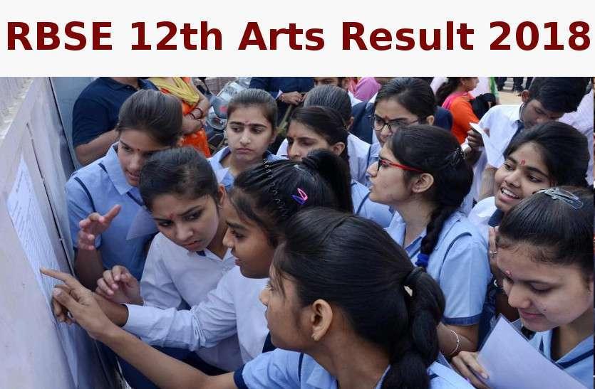 RBSE 12th Arts Result 2018: लड़कियों ने फिर मारी बाजी, जानें कितने प्रतिशत रहा परिणाम