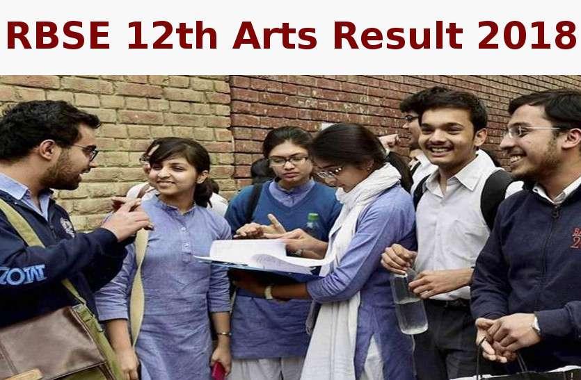 RBSE 12th Arts Result 2018 हुआ घोषित, rajeduboard.rajasthan.gov.in पर करें चेक