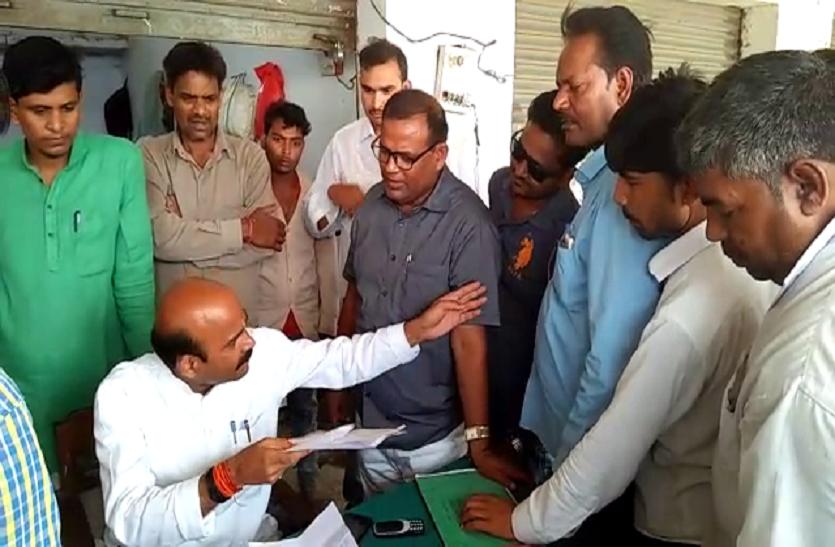 बीजेपी सांसद ने गेहूं क्रय केन्द्रों पर मारा छापा, मचा हड़कंप