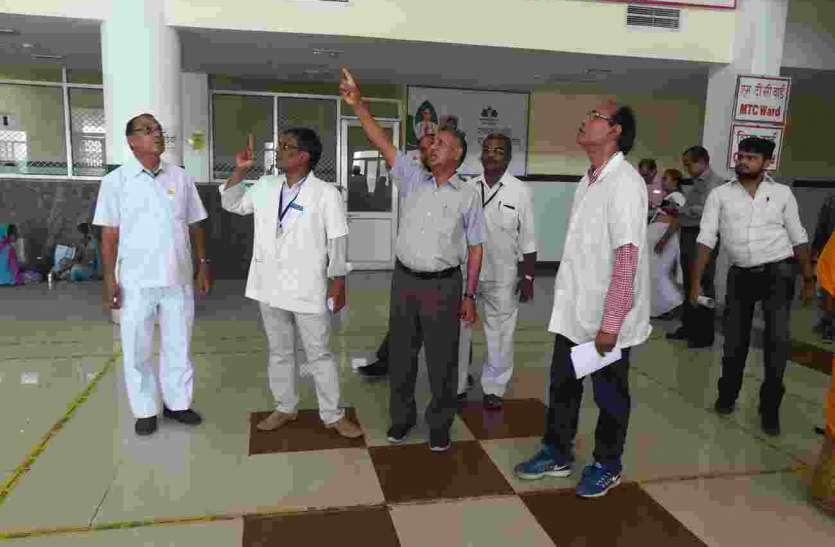 प्रतापगढ़ के प्रभारी सचिव ने अस्पताल में क्या जताई चिंता, देखें पूरी खबर