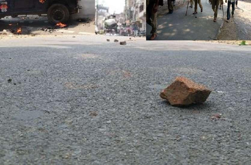 इलाहाबाद यूनिवर्सिटी में हिंसा: एक के बाद एक लगातार फूटे बम, मची अफरा-तफरी, पुलिस फोर्स सहित RAF तैनात