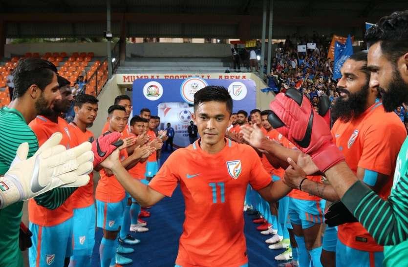 छेत्री की अपील के बाद भारत की बेहतरीन जीत से जश्न में पूरा देश, ट्विटर पर लगा बधाईयों का तांता