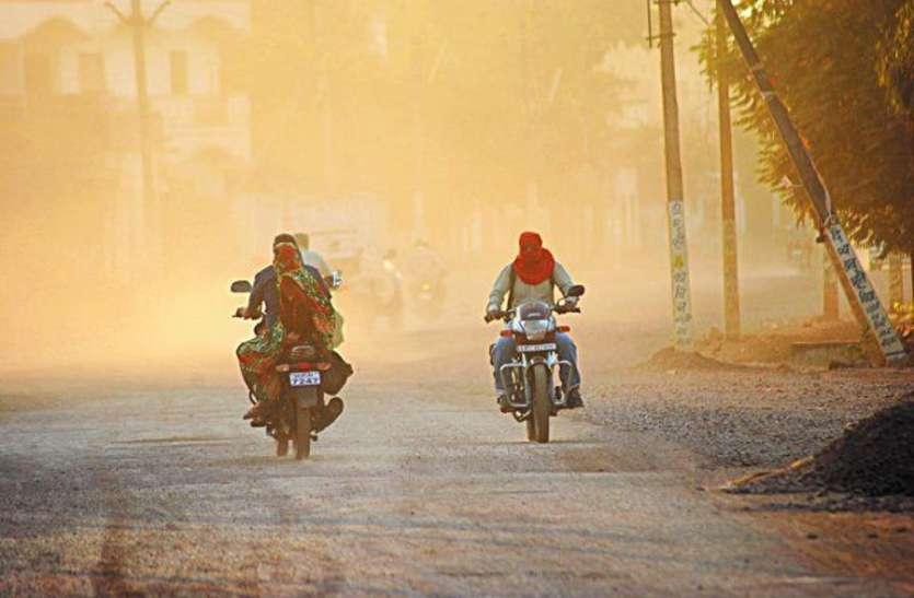थार की धूल यूं कर रही प्रदूषण में बढ़ोतरी, सबसे प्रदूषित शहर जोधपुर