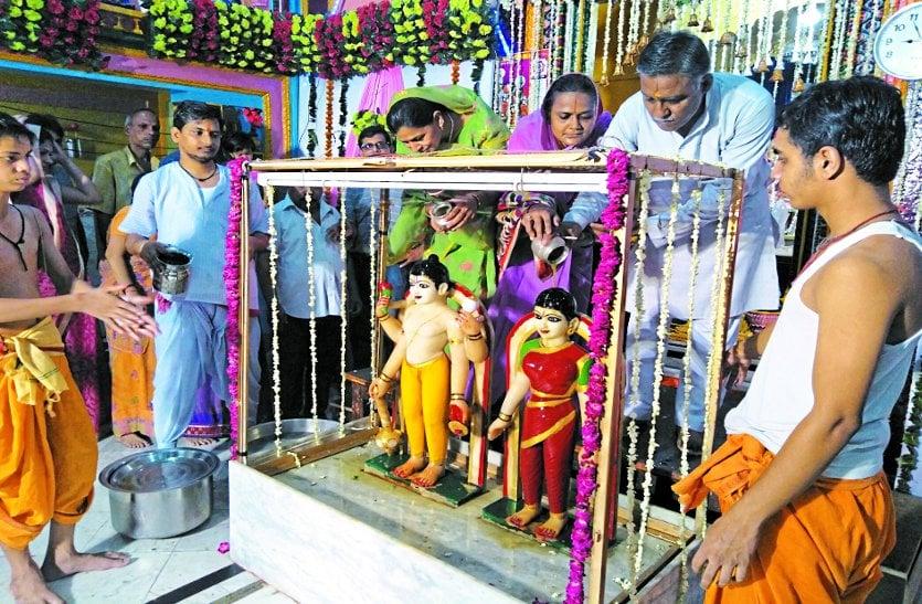 श्रीलक्ष्मी नारायण मंदिर में श्रीकृष्ण जन्माष्टमी