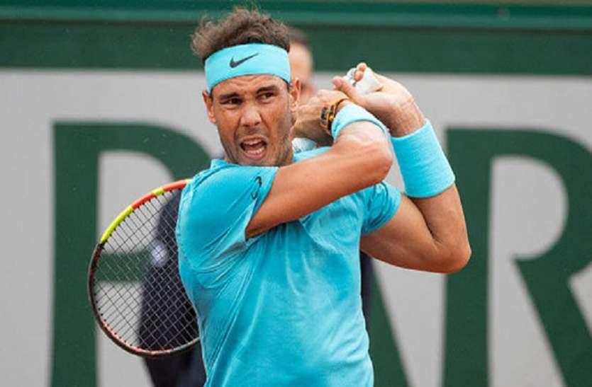 French Open 2018: नडाल, हालेप और शारापोवा बढ़े आगे, चोटिल सेरेना बाहर