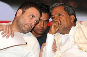 कांग्रेसी नेताओं में मंत्रालय पाने के लिए मची होड़, कर्नाटक से दिल्ली तक लगाई दौड़