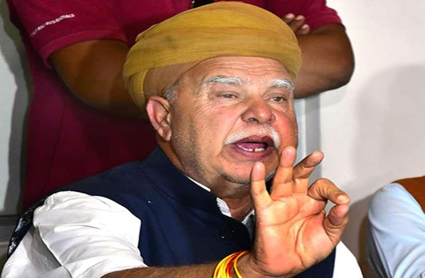 राममंदिर को लेकर कालवी का बड़ा बयान, अयोध्या में राममन्दिर नहीं, राममहल बनना चाहिए
