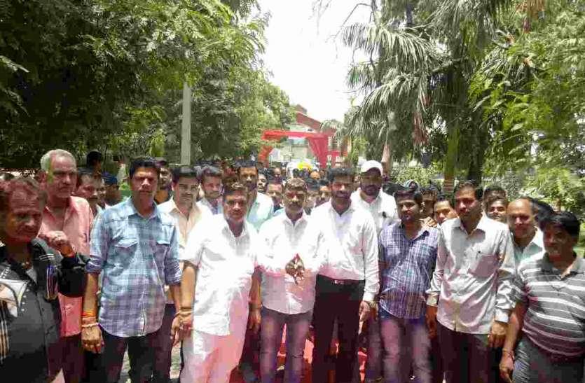 आखिर क्यों हुआ प्रतापगढ़ नगरपरिषद सभापति का इतना स्वागत, देखें पूरी खबर
