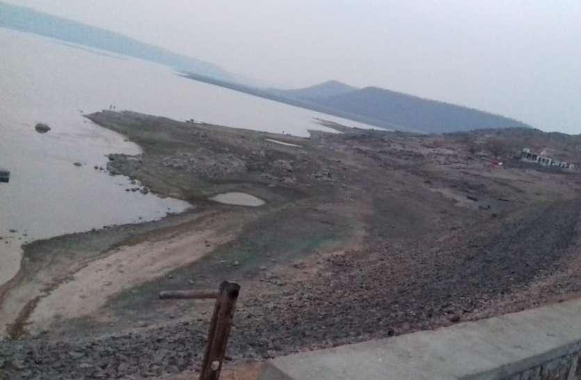 धान के पलेवा के लिए इस बार हरसी डैम से पानी मिल पाना मुश्किल