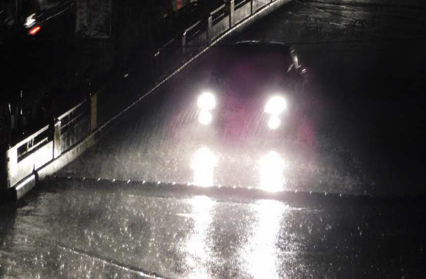 दिनभर तपाया, शाम को हुई प्री-मानसून की झमाझम बारिश