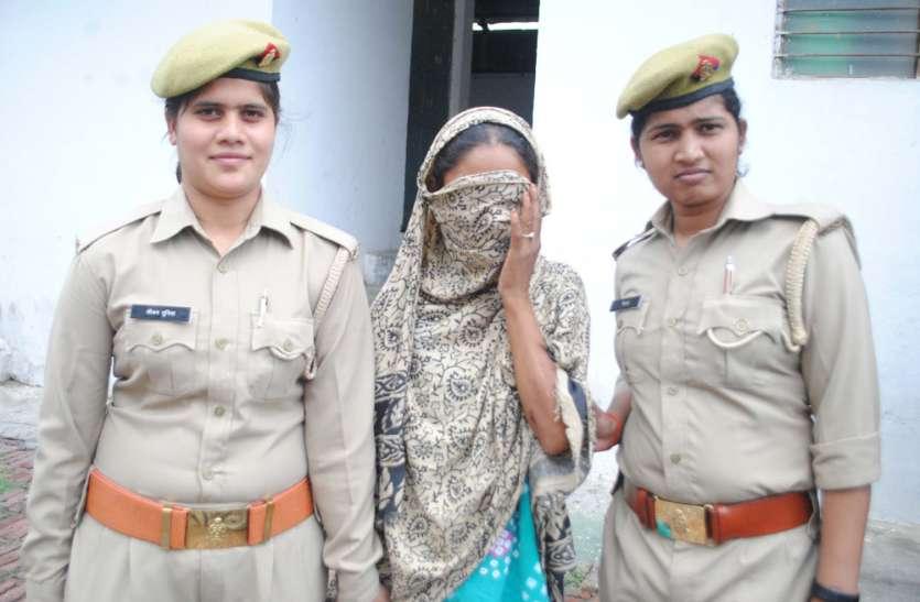 थाने में इस महिला ने किया ऐसा काम कि पुलिसकर्मी भी हो गए नौ-दो ग्यारह