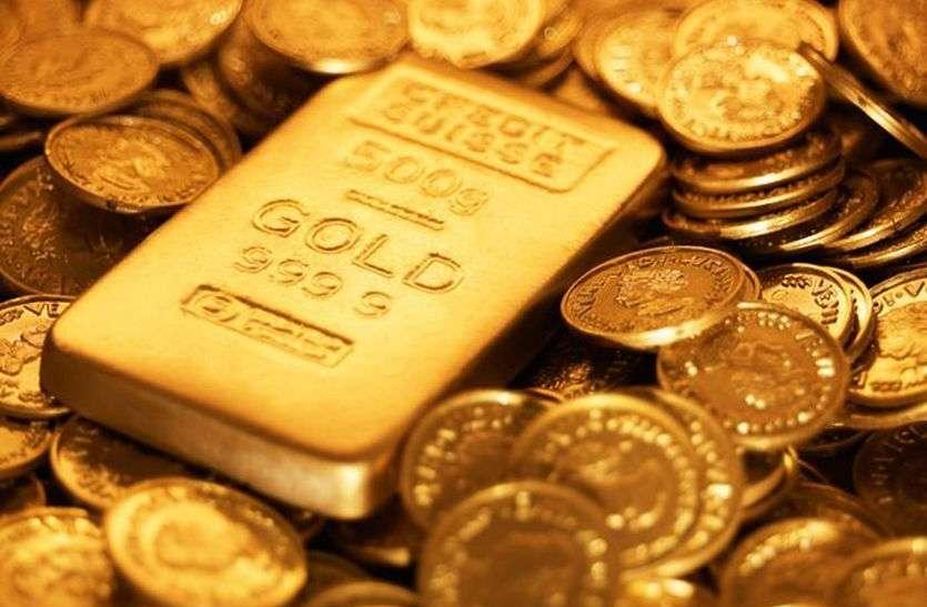 तस्करों से पकड़ा 55 लाख का सोना