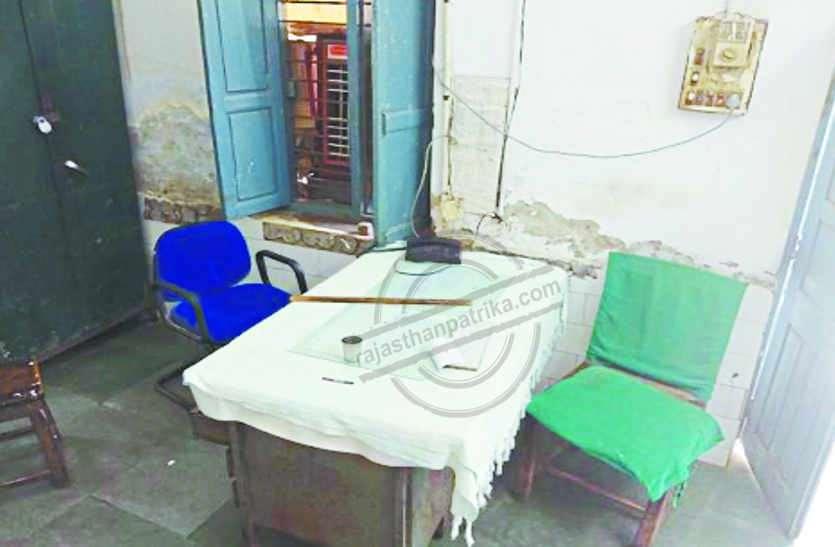 राजस्थान के इस जिला अस्पताल में काम खून पेशाब की जांच का और चख रहा है भोजन