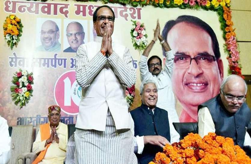 चुनावी महामुकाबला में अकेले पडे शिवराज, मंत्रियों का भारी विरोध