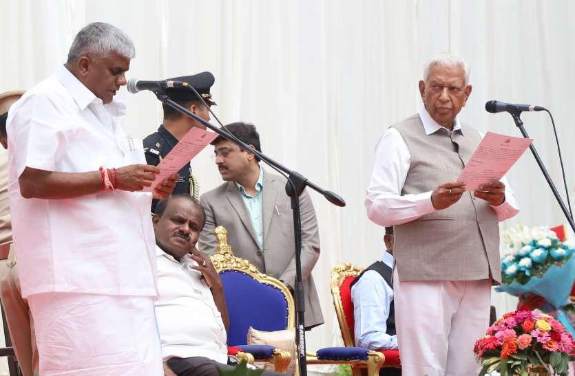 कर्नाटक में किस मंत्री की क्या है चाहत
