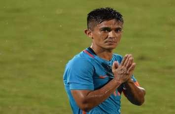 टूर्नामेंट में सुनील छेत्री ने दागा छठा गोल, फिर भी भारतीय फुटबॉल टीम नहीं लगा सकी जीत की हैट्रिक