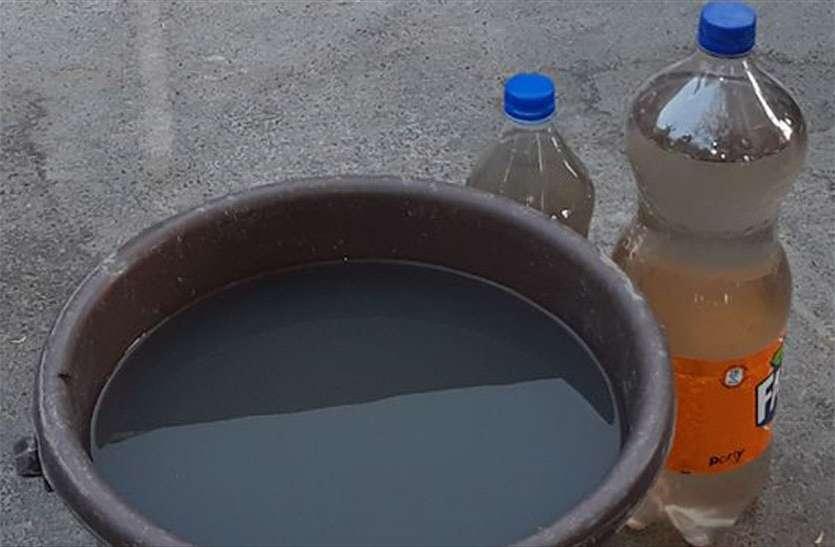 चेयरमैन के घर गंदे पानी की सप्लाई, जानिए क्या जवाब दिया पीएचईडी एईएन ने
