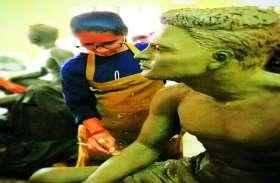 बचपन में आटे की लोई से खेलने वाली मीना का आर्ट मायानगरी में बिखेर रहा जादू
