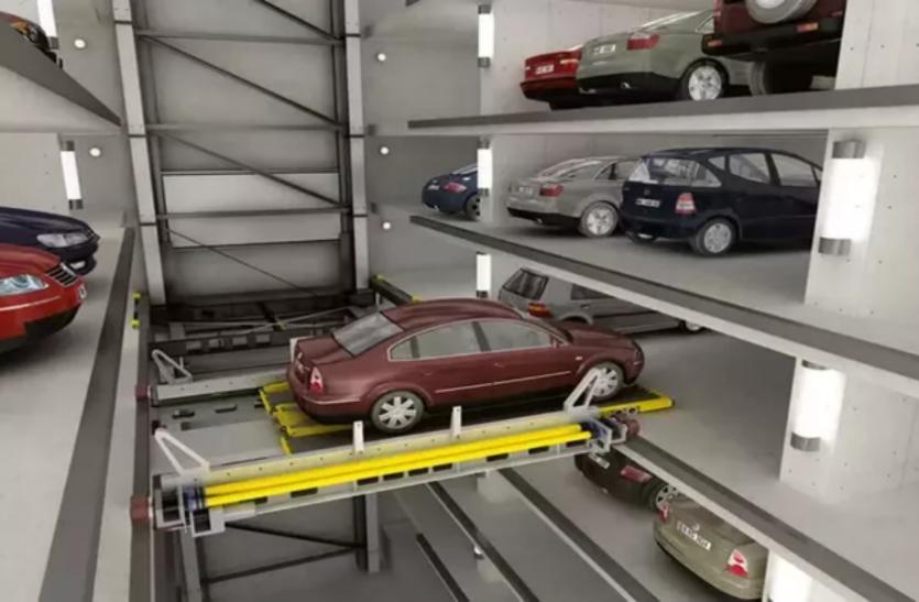 गाजियाबाद में बनेगी UP की पहली ऑटोमैटिक अंडरग्राउंड पार्किंग, टोकन डालते ही गाड़ियां खुद से चली जाएंगी अंदर